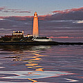Lighthouse Reflection by David Pringle