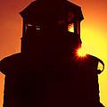 Lighthouse Sunset by Joann Vitali
