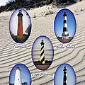 Lighthouses Of The Outer Banks by Tony Cooper