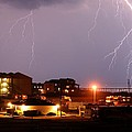 Lightning At Outer Banks by Christopher Hignite