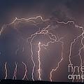 Lightning Strike by Ted Kinsman