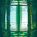 Lightouse Lantern At Portland Lighthouse by Nancy Griswold