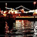 Lights Of Harbor by Gennadiy Golovskoy