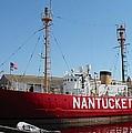 Lightship Nantucket by Lin Grosvenor