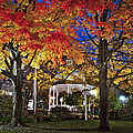 Ligonier Diamond At Night by Williams-Cairns Photography LLC