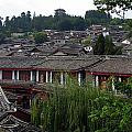 Lijiang Rooftops by Carla Parris