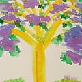 Lilac Lavender Tree by Mary Carol Williams