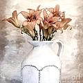 Lilies Pitcher by Marsha Heiken