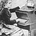 Lillian Sholes, The First Typist, 1872 by Science Source