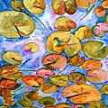 Lily Pad Time by SchulmanArt