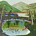 Lily Pond by Don Monahan
