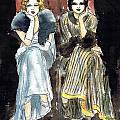 Lilyan And Kay 2 by Mel Thompson