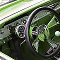 Lime Chevy Impala  by Carolyn Stagger Cokley