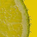 Lime Slice Soda 2 by John Brueske