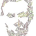 Lincoln As Word Cloud by David Bearden