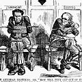 Lincoln Cartoon, 1864 by Granger