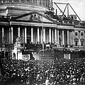 Lincoln Inauguration, 1861 by Chicago Historical Society