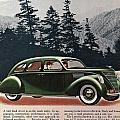 Lincoln Zephyr 1936 by Georgia Fowler
