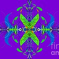 Linear Movement In Purple by George Pedro
