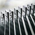 Lined Up Dominoes by Victor De Schwanberg