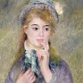 L'ingenue by Pierre Auguste Renoir