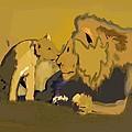 Lion by Dennis George