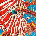 Lion Fish Face by Daniel Jean-Baptiste