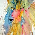 Lion Head 3 by Connie Beattie