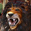 Lion Merry Go Round Animal by Elizabeth Rose