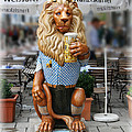 Lion Of Beer by Diana Haronis