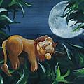 Lion Sleeps Tonight by Miranda Mehrer