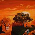 Lions Love Life by John Paul Blanchette