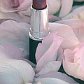 Lipstick And Roses by Sophie Vigneault