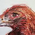Lipstick Eagle by Iris Gill