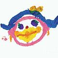 Lipstick Face by Jessie Abrams Age Six