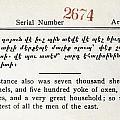 Literacy Test C1917 by Granger