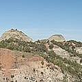 Little Badlands Missouri Panorama1 by Michael Peychich