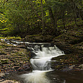 Little Carp River Falls 3 by John Brueske