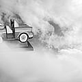 Little Dreams Bw by Kathleen Grace