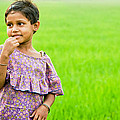 Little Girl by Santu Mondal
