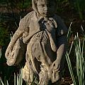 Little Girl Turned To Stone by Douglas Barnett