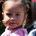 Little Girl With Earings by Laurie Prentice