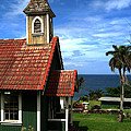 Little Green Church In Hawaii by Dorothy Cunningham