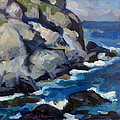 Little Maine Seascape by Thor Wickstrom