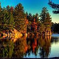 Little Mellon Lake One by John Herzog