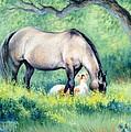 Little Paint II by Kay Moss Heavener