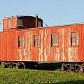 Little Red Caboose by Judy Hall-Folde