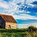 Little Shed On The Prairie by Matt Dobson