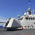 Littoral Combat Ship Uss Freedom by Stocktrek Images
