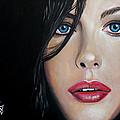 Liv Tyler by Tom Carlton